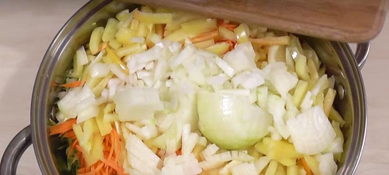 кабачки под корейскую морковь