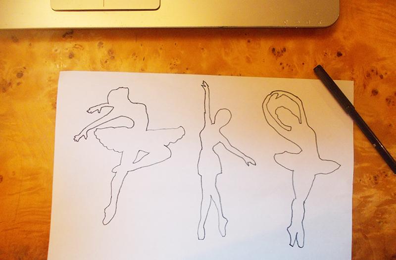 снежинки-балеринки