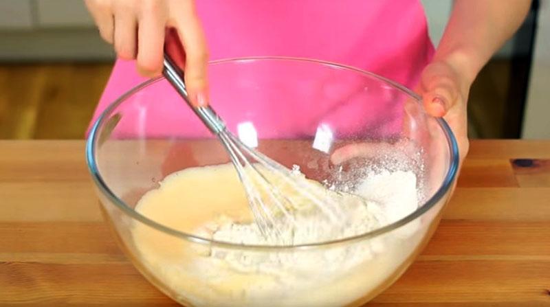 блины на воде и молоке