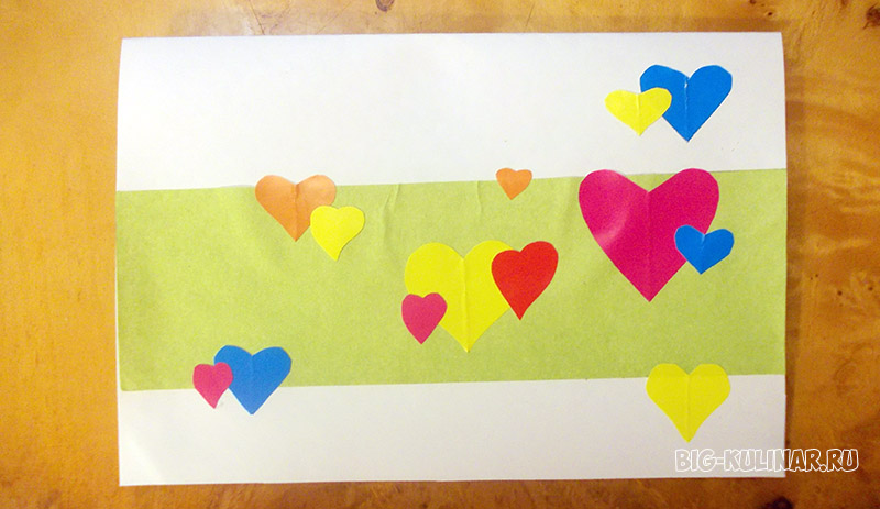 открытка цветочная поляна