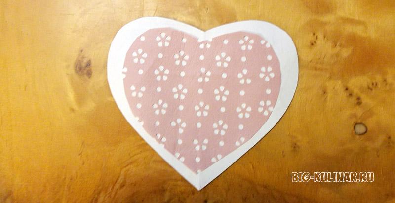 валентинка цветок любви