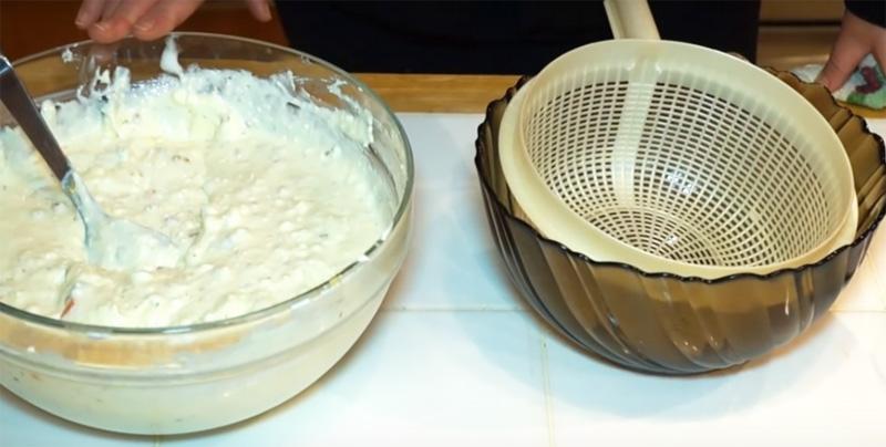 творожная пасха из творога, сметаны, масла и яиц
