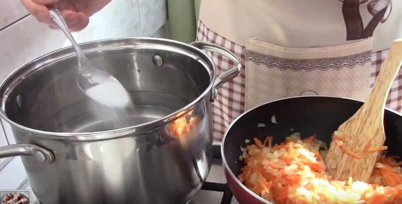 овощной суп с щавелем