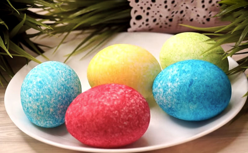 бархатные яйца