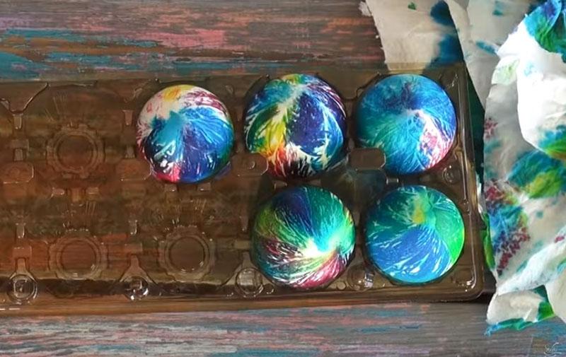 идеи покраски яиц
