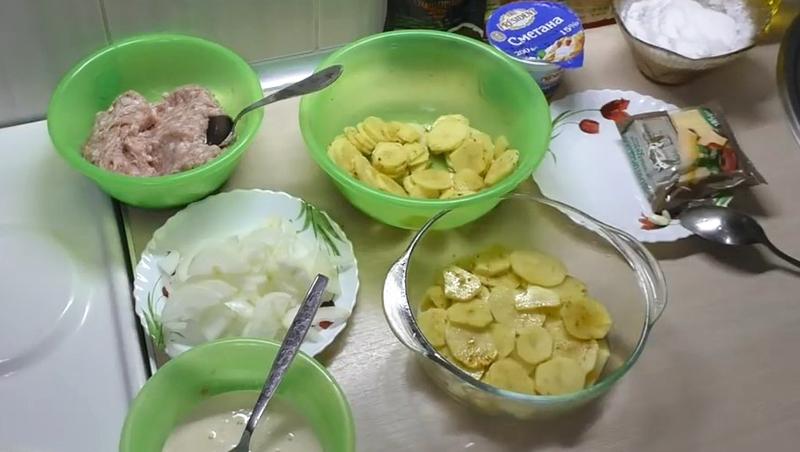 запеканка из картофеля и фарша