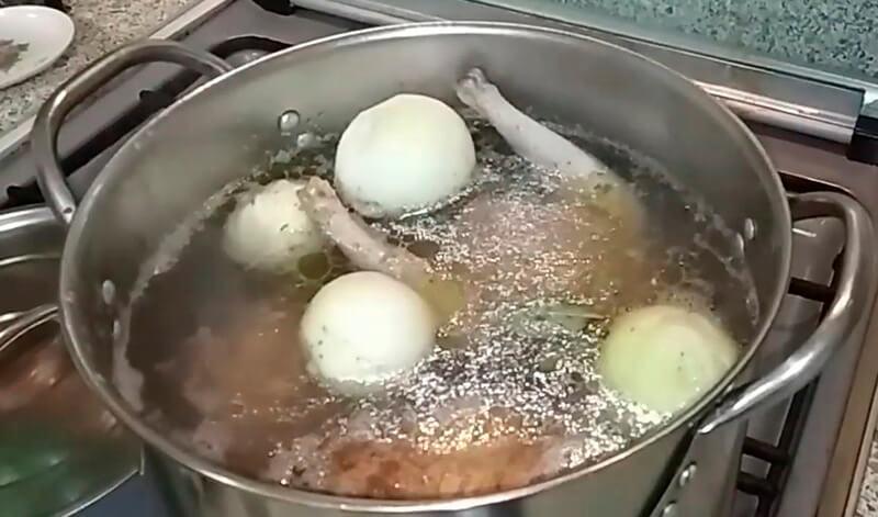 холодец из рульки и курицы