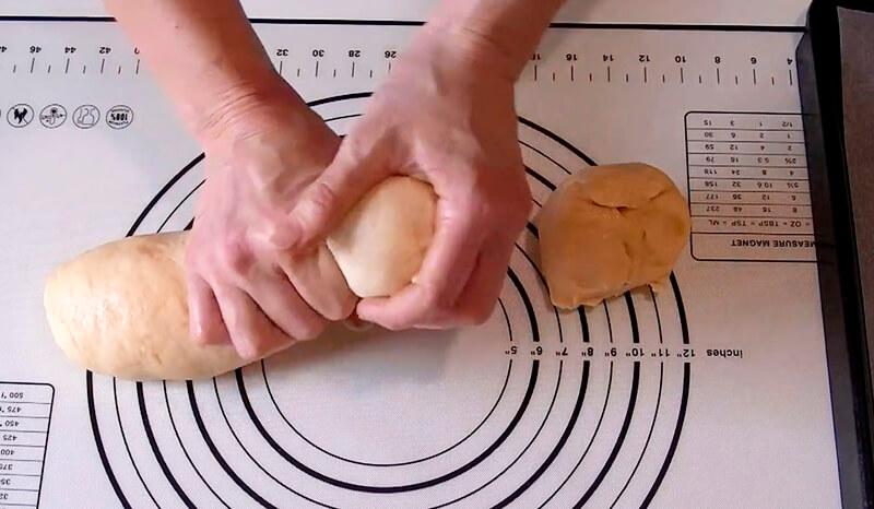 булочки с корицей из готового теста