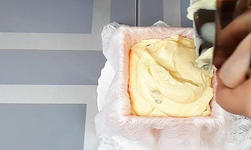 заварная пасха со сливками