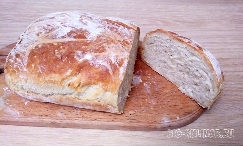 простой рецепт хлеба