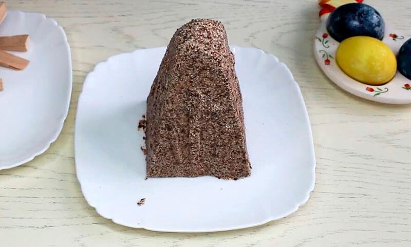заварная пасха с шоколадом