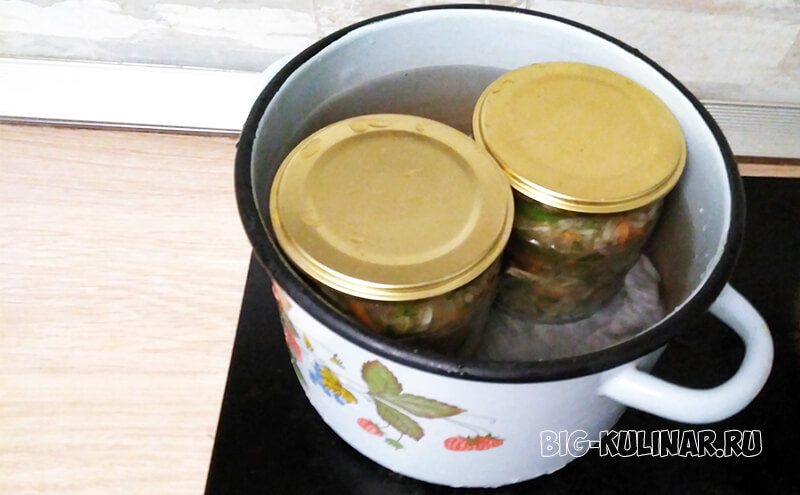 кабачки по-корейски на зиму