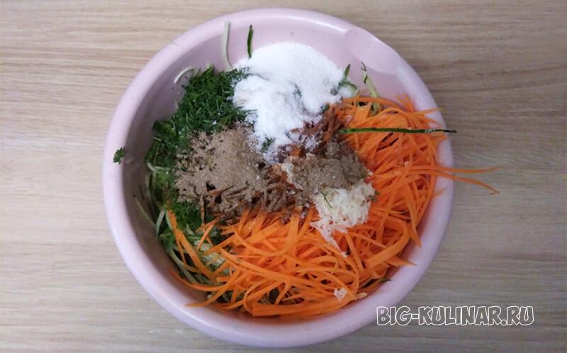огурцы по-корейски на зиму