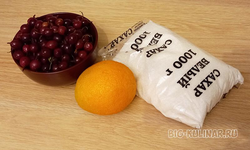 джем из крыжовника с апельсином